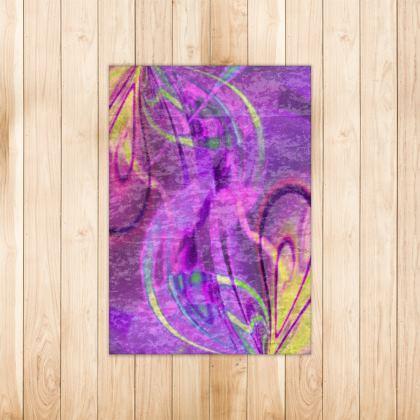 Rugs Infinity Purple
