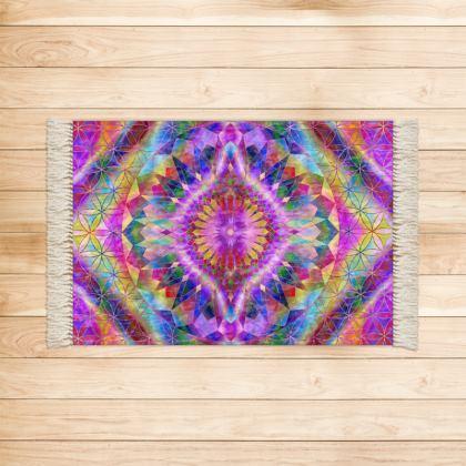 Rugs Purple Mandala