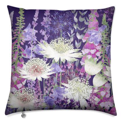 Midnight Garden of Wonder Luxury Cushion (2)