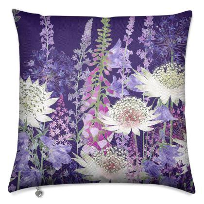 Midnight Garden of Wonder Luxury Cushion (3)