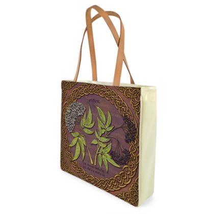 Tree Calendar Elder Shopper Bag