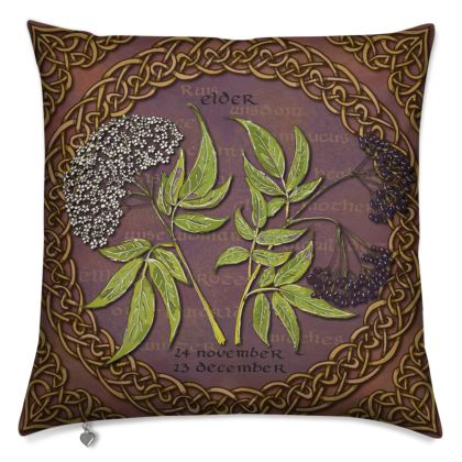 Tree Calendar Elder Cushion