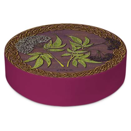 Celtic Elder Round Floor Cushion