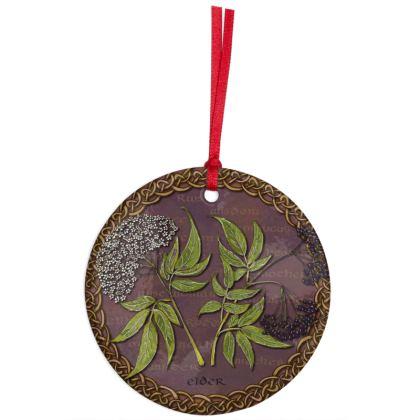 Celtic Elder Hanging Ornament