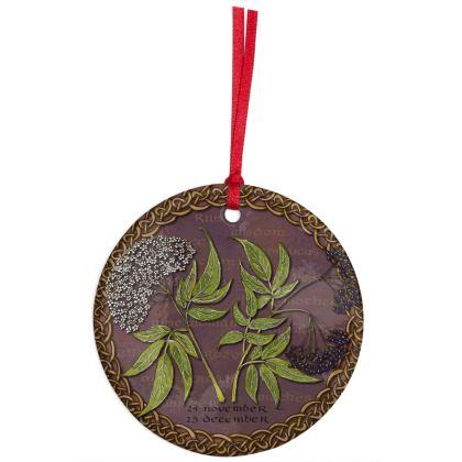 Tree Calendar Elder Hanging Ornament