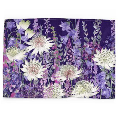 Midnight Garden of Wonder Tea Towel