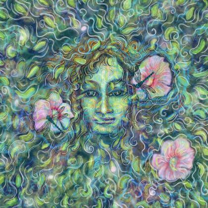 Ladies Bomber Jacket: Queen of the faeries