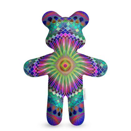 Teddy Bear Sun Mandala
