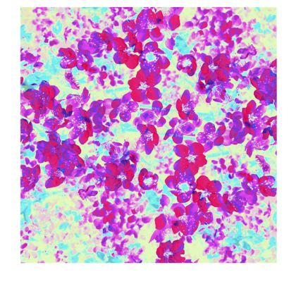Slip Dress Spring Flowers