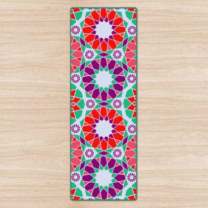 Yoga Mat Mandala Pattern