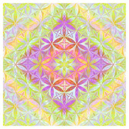 Quilts Kaleidoscope Flower Of Life 1