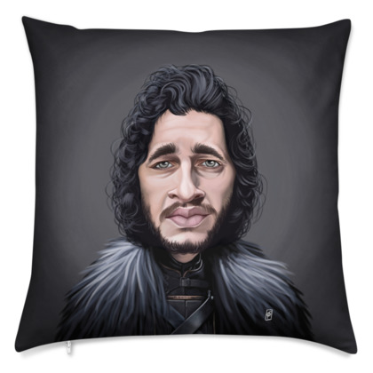 Kit Harington Celebrity Caricature Cushion