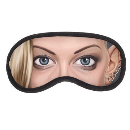 Natalie Dormer Celebrity Caricature Eye Mask