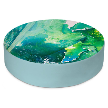 Environmental Considerations Deep Sea Bubbles Round Floor Cushions