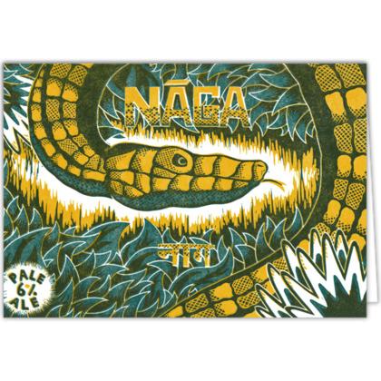 Naga Card Design