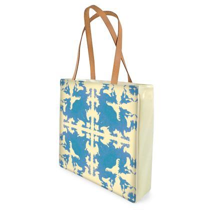 Hidden Dragon Shopping Bag