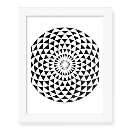 Framed Art Prints Mandala Torus