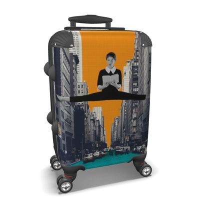 Uptown Girl Travel Suitcase