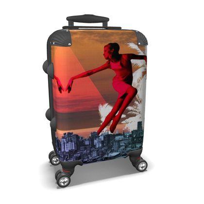 Joie de Vivre Travel Suitcase