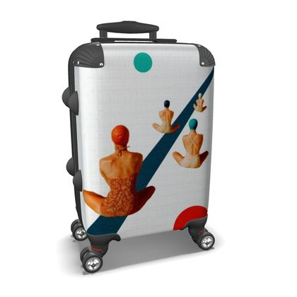 Summer is Ending Travel Suitcase