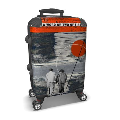 A word or two of fire Travel Suitcase