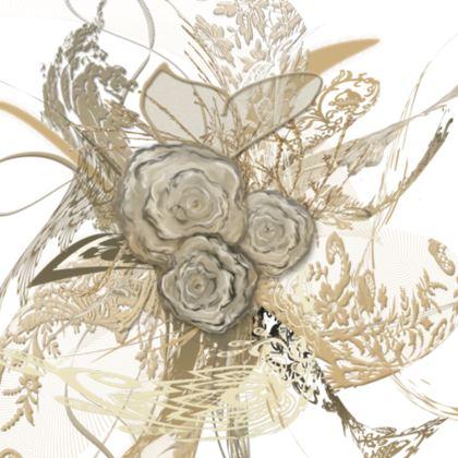 Cushion - Kudde - 50 shades of lace White