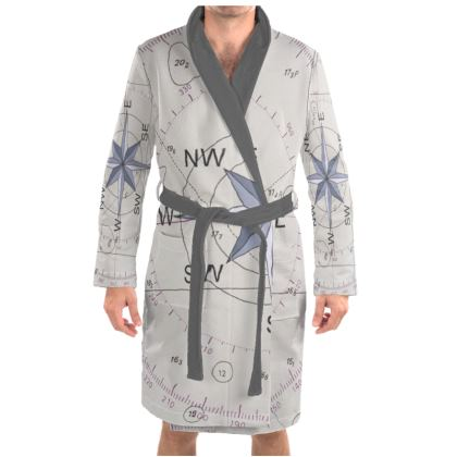 Dressing Gown Compass point design