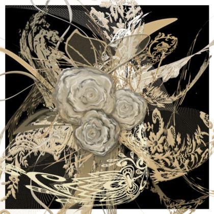 Cushion - Kudde - 50 shades of lace Black