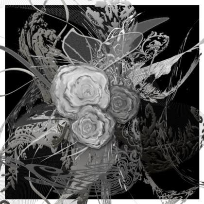 Cushion - Kudde - 50 shades of lace Grey Black