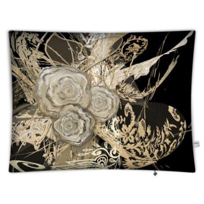 Floor Cushion - Golvkudde - 50 shades of lace Black