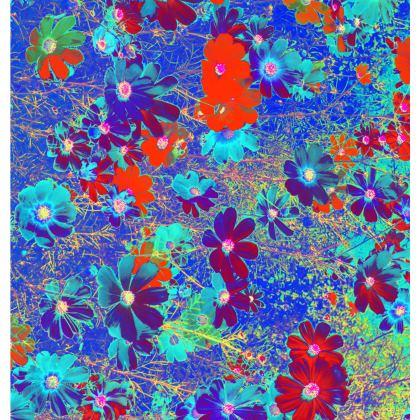 Ladies T Shirt Cosmos Flowers