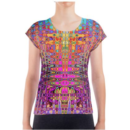 Ladies T Shirt Splashes 2