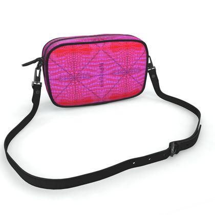 Cross bod bag pink KROKODIL
