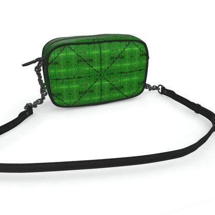 Cross body bag green KROKODIL