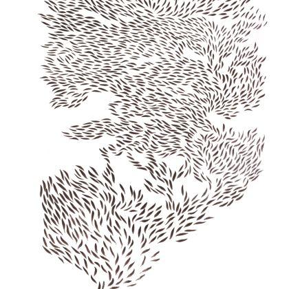 Coffee Buzz Kimono