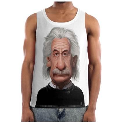 Albert Einstein Celebrity Caricature Cut and Sew Vest