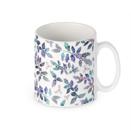 Ceramic Mug - Holly Madness