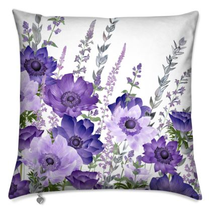 The Morning Anemone Patch Cushion