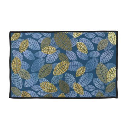 Hand Towel set in Digital Leaf Design