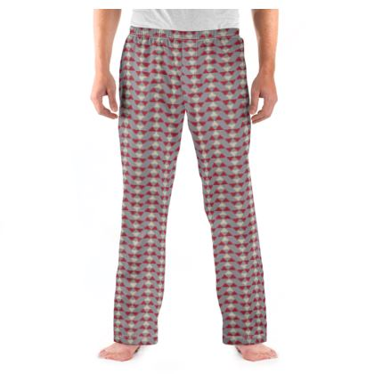 Mens Pyjama Bottoms Mayan Pattern 4
