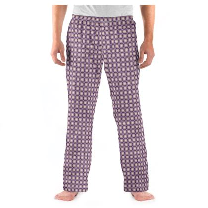Mens Pyjama Bottoms Tile Pattern 2