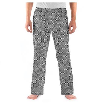 ens Pyjama Bottoms Black White