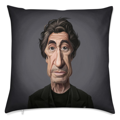 Al Pacino Celebrity Caricature Cushion