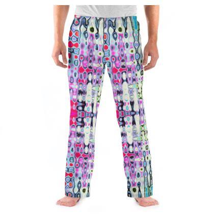 Mens Pyjama Bottoms Love Splashes