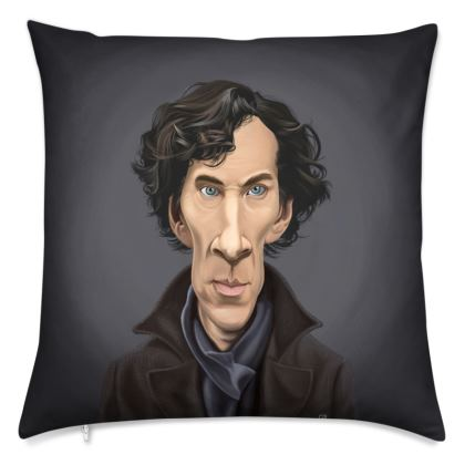 Benedict Cumberbatch Celebrity Caricature Cushion