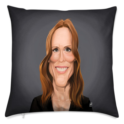 Julianne Moore Celebrity Caricature Cushion