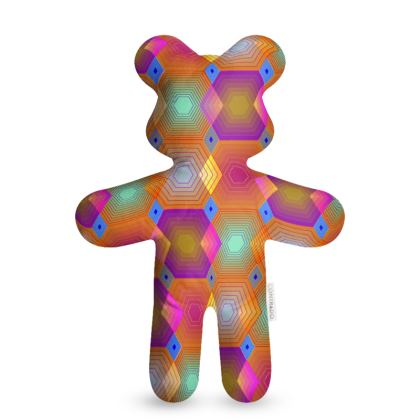 Geometrical Shapes Collection Teddy Bear