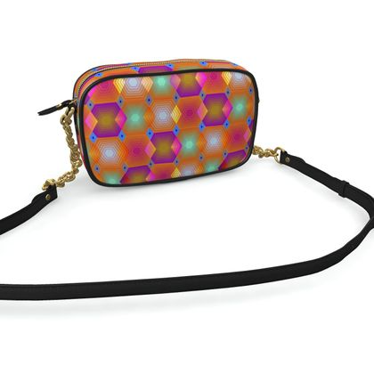 Geometrical Shapes Collection Camera Bag