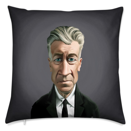 David Lynch Celebrity Caricature Cushion