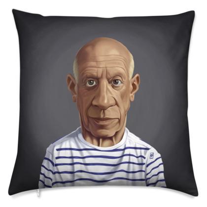 Pablo Picasso Celebrity Caricature Cushion